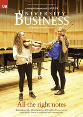 Cover of University Business, issue 115
