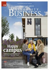 Issue 126 cover, University Business