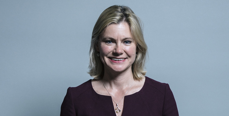 Justine Greening used a speech at Nottingham Trent University to reveal a poll that suggests public appetite for universities to be scored for their impact on social mobility