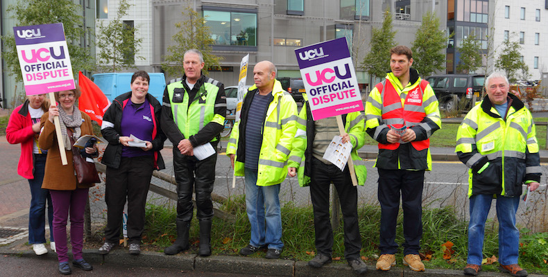 The Office for the Independent Adjudicator says some students should receive tuition fee refunds due to strike action credit: Flickr Roger Blackwall