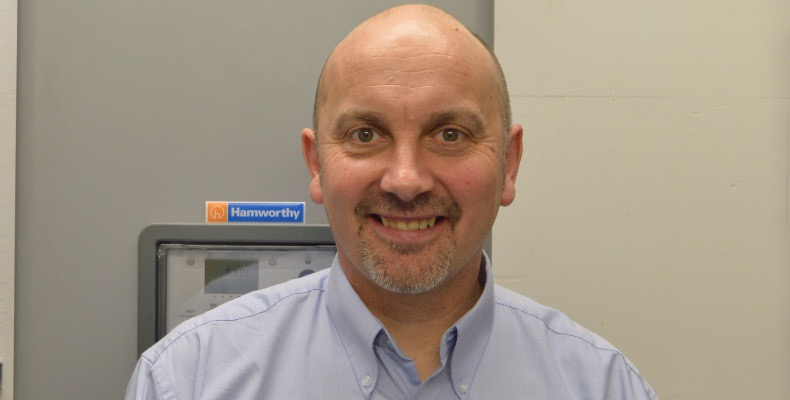 Dave Ward is area sales manager at Hamworthy Heating