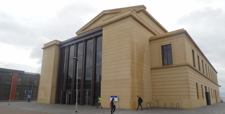 Most universities are prioritising new academic and research buildings. Swansea Bay Campus was a £450 million project unveiled in 2015.