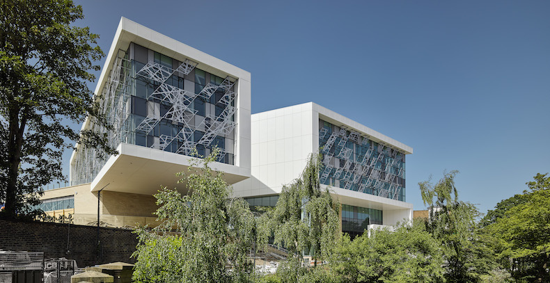 The Barbara Hepworth Building is the first time the departments of art, design and architecture have been housed under one roof at the University of Huddersfield