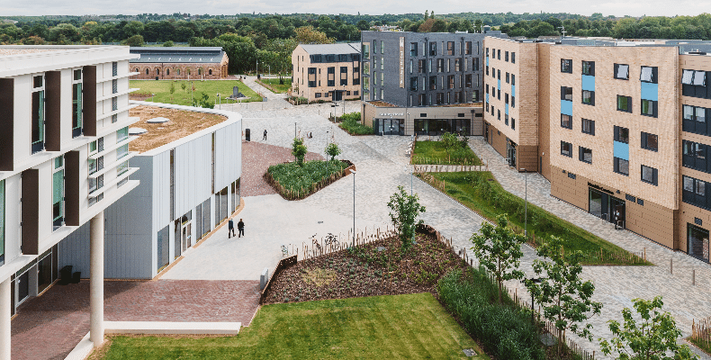 The scheme is a regional finalist in the 2020 Civic Trust Awards