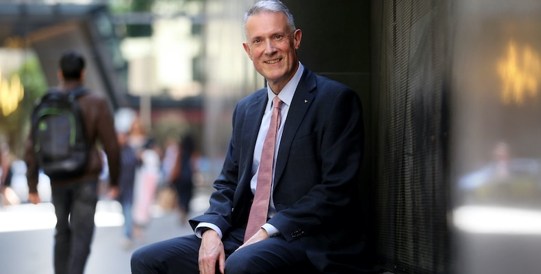 FEBRUARY 25, 2019: MELBOURNE, VIC. Chief Executive Officer of the Tertiary Education Quality and Standards Agency Anthony McClaran poses during a photo shoot in Melbourne, Victoria. (Photo by David Geraghty) Contact Email: newspix@newsltd.com.au Contact Web URL: www.newspix.com.au Contact Email: newspix@newsltd.com.au