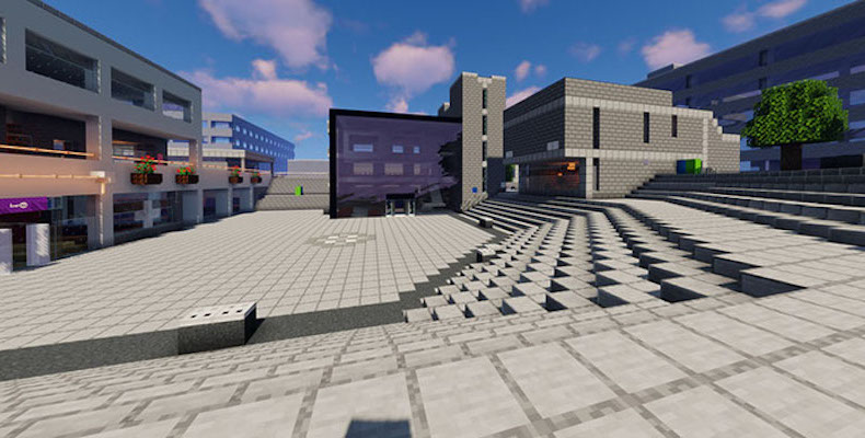UEA students create a digital version of campus