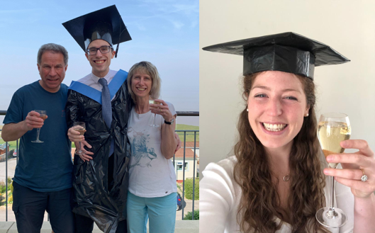 Virtual graduation for Exeter medical students