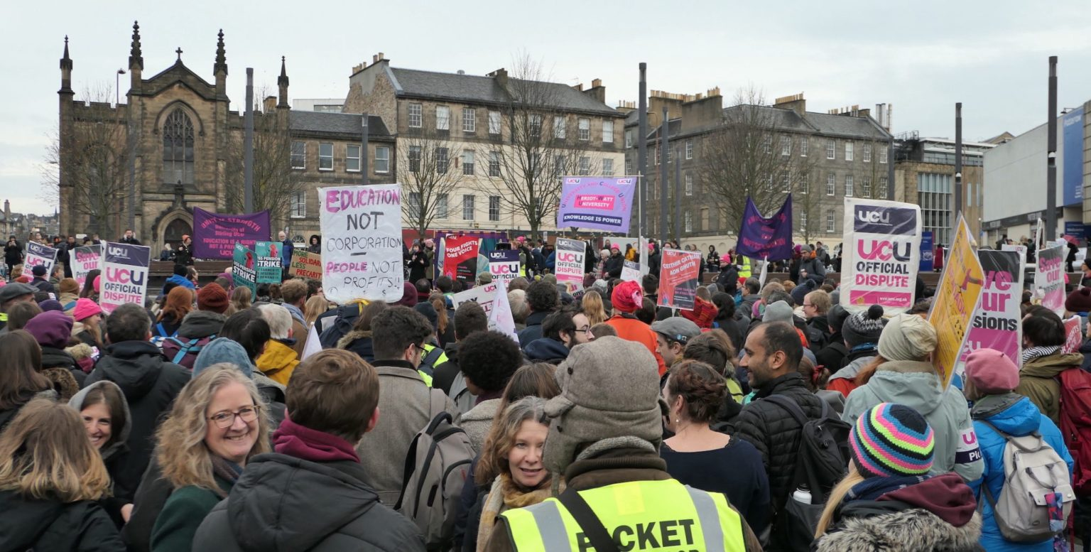 Union threatens UUK with industrial action over plans for pensions