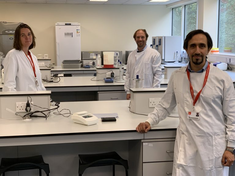 Research-team-left-to-right-Dr-Emma-Hayhurst-Dr-Jeroen-Nieuwland-and-Dr-Ali-Roula_01-768x576