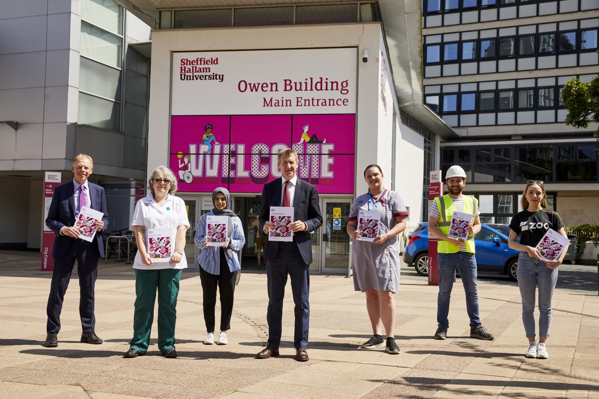 'We want to be a beacon for what a university can do': Sheffield Hallam announce civic agreement