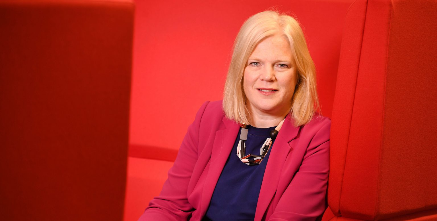 CLARE MARCHANT, CEO OF UCAS.©RUSSELL SACH - 0771 882 6138