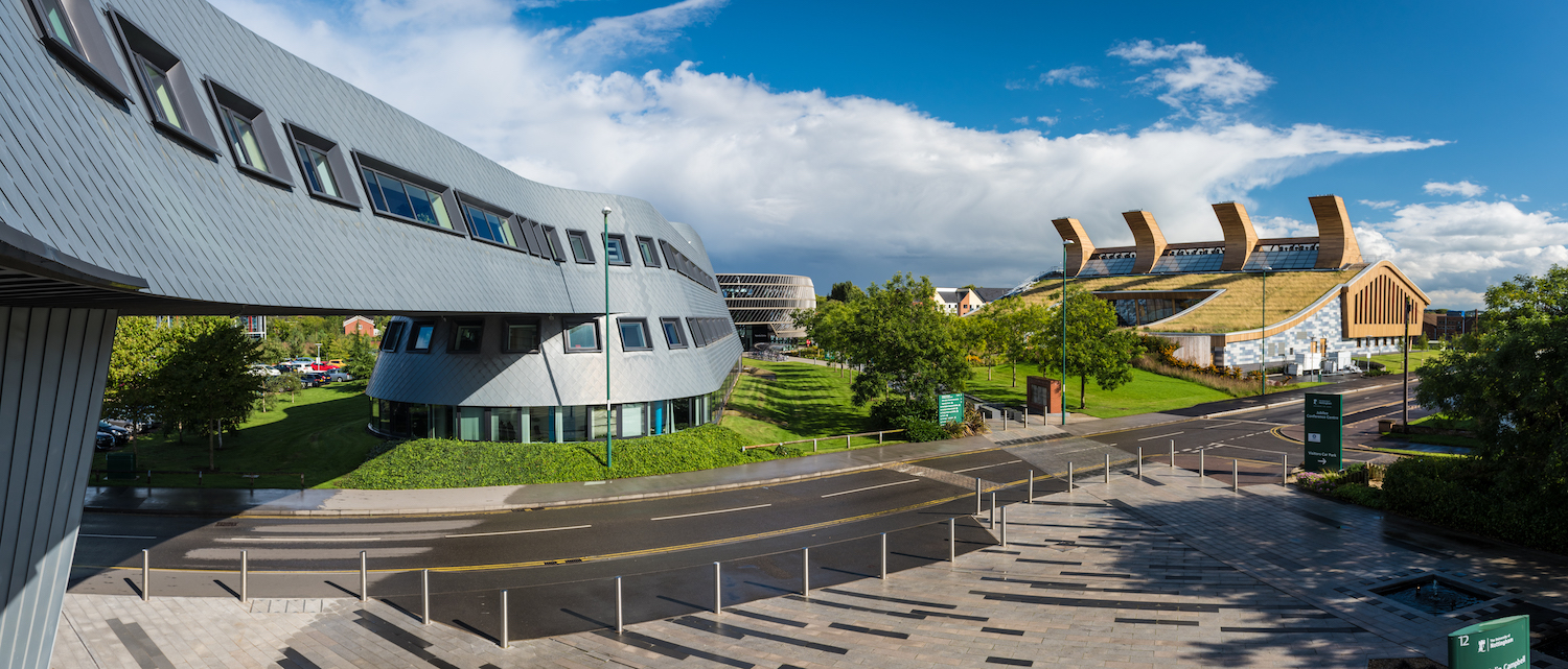 """External view of the Sir Colin Campbell building and the GlaxoSmithKline Carbon Neutral Laboratory for Sustainable Chemistry, Jubilee Campus © University of Nottingham"""""""